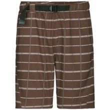 The North Face Class V Printed Trunk - UPF 50 (For Men) in Burrow Brown - Closeouts