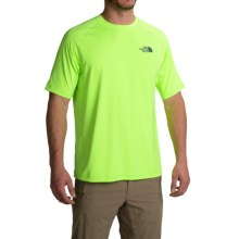The North Face Class V Shirt - UPF 50, Short Sleeve (For Men) in Safety Green - Closeouts