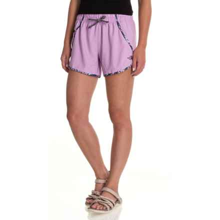 The North Face Class V Shorts - UPF 50 (For Women) in Violet Tulle - Closeouts