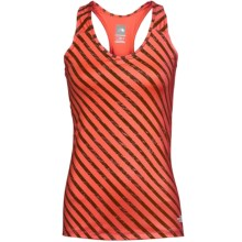 The North Face Class V Stretch Jersey Tank - UPF 50, Racerback, V-Neck (For Women) in Juicy Red Print - Closeouts