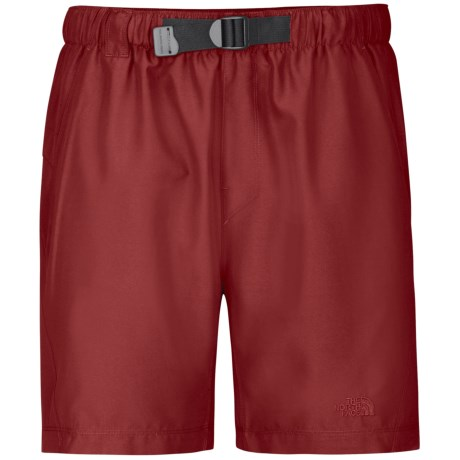 The North Face Class V Trunk Shorts - UPF 50, Inner Brief (For Men) in Rhubarb Red