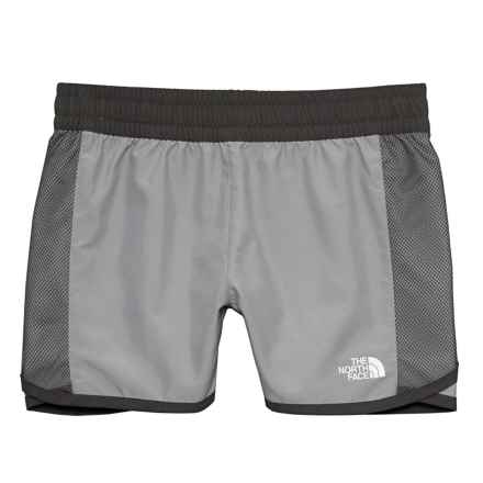 The North Face Class V Water Shorts (For Little And Big Girls) in Metallic Silver - Closeouts