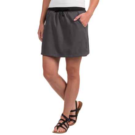 The North Face Classic V Skort - UPF 50 (For Women) in Graphite Grey - Closeouts