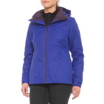The North Face Clementine Triclimate® Ski Jacket - Waterproof, Insulated, 3-in-1 (For Women) in Inauguration Blue - Closeouts