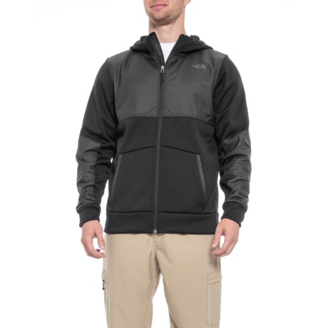 The North Face Climb On Full Zip Hoodie (For Men) in Tnf Black   3d25be035093