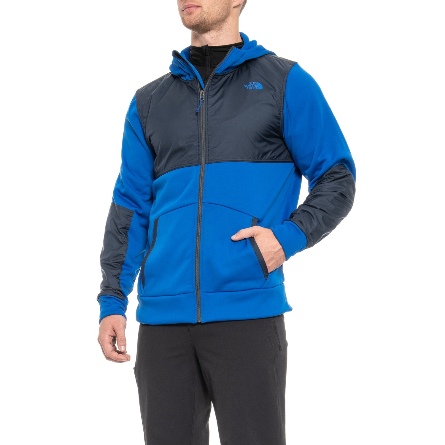 0be092db973 ... clearance the north face climb on full zip hoodie for men in urban navy  0bf01 8b834 ...