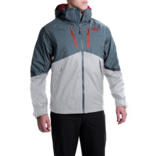 The North Face Condor Triclimate® Jacket - Waterproof, 3-in-1 (For Men) in High Rise Grey/Conquer Blue - Closeouts