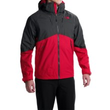 The North Face Condor Triclimate® Jacket - Waterproof, 3-in-1 (For Men) in Tnf Red/Asphalt Grey - Closeouts
