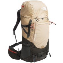 The North Face Conness 55 Backpack - Internal Frame in Dune Beige/Asphalt Grey - Closeouts