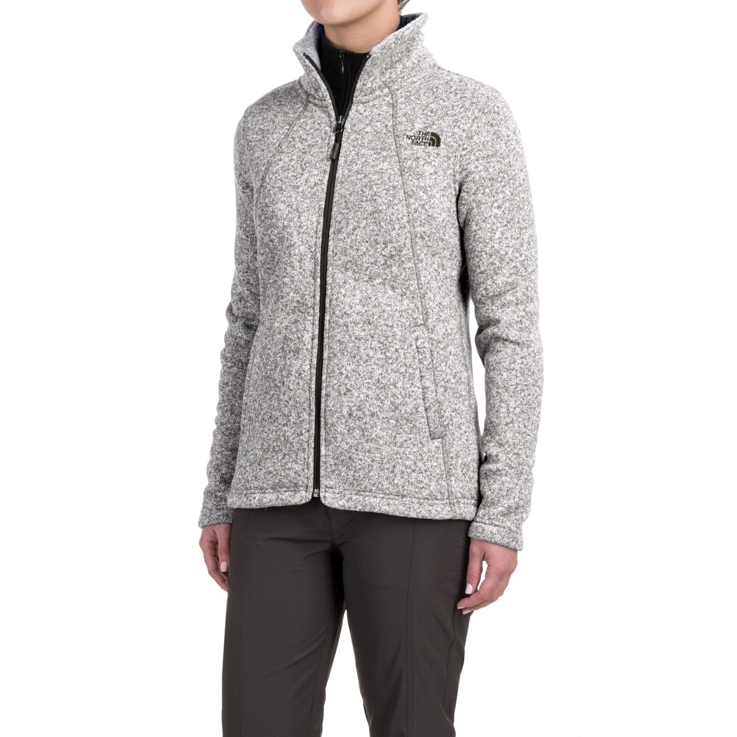 North Face Schoudertasje : The north face crescent knit jacket for women