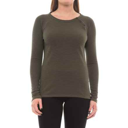 The North Face Cresting Shirt - Long Sleeve (For Women) in Burnt Olive Green - Closeouts