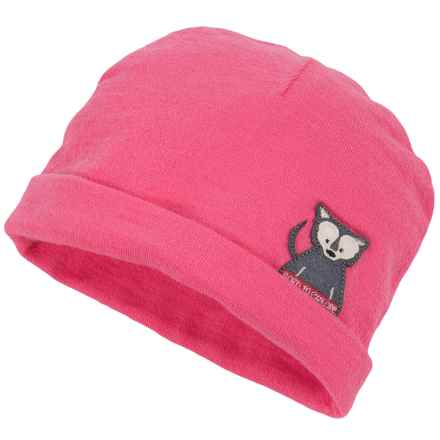 The North Face Critter Beanie (For Infants) in Cha Cha Pink - Closeouts