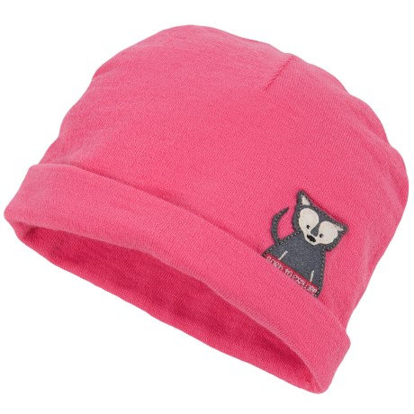 The North Face Critter Beanie (For Infants) in Cha Cha Pink