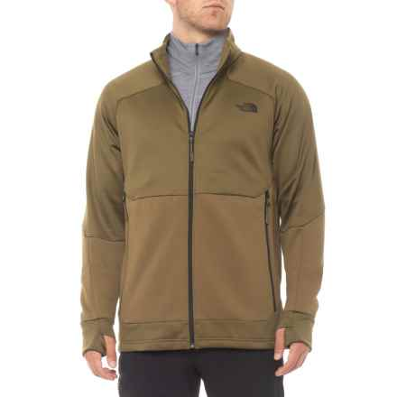 The North Face Croda Rossa Fleece Jacket (For Men) in Military Olive - Closeouts