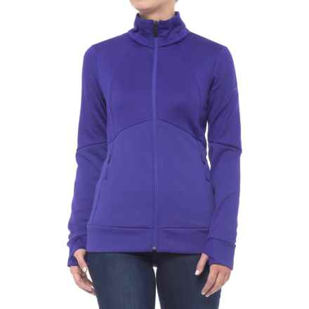 The North Face Croda Rossa Fleece Jacket (For Women) in Inauguration Blue - Closeouts