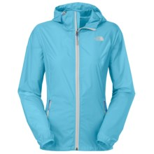 The North Face Cyclone Hooded Jacket (For Women) in Fortuna Blue - Closeouts