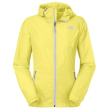 The North Face Cyclone Hooded Jacket (For Women) in Hamachi Yellow - Closeouts