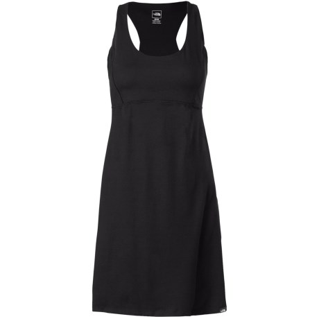 The North Face Cypress Dress - UPF 50, Sleeveless (For Women) in Tnf Black
