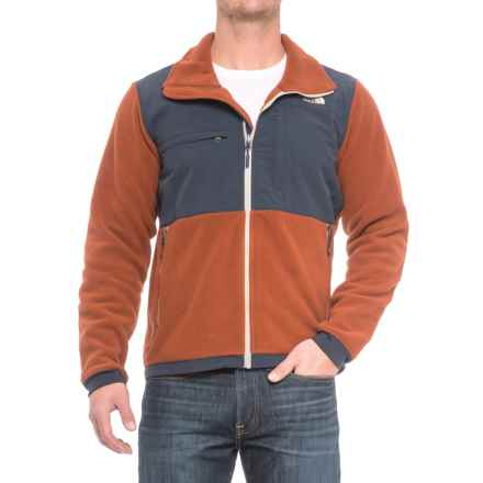 The North Face Denali 2 Polartec® Fleece Jacket (For Men) in Recycled Brandy Brown/Urban Navy - Closeouts