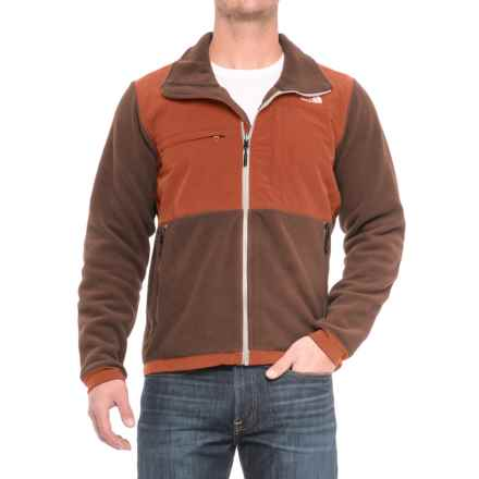 The North Face Denali 2 Polartec® Fleece Jacket (For Men) in Recycled Brunette Brown/Brandy Brown - Closeouts