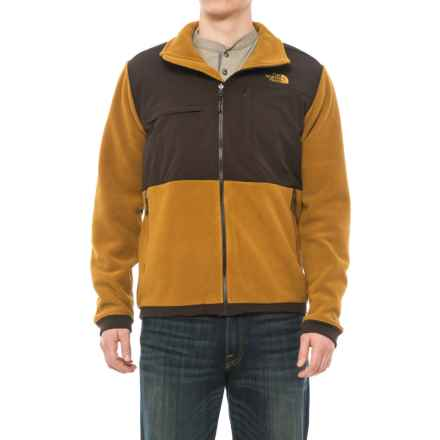 The North Face Denali 2 Polartec® Fleece Jacket (For Men) in Recycled Golden Brown/Brunette Brown - Closeouts