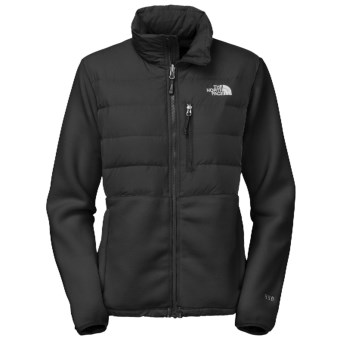 The North Face Denali Down Jacket - 550 Fill Power, Polartec® (For Women) in Tnf Black/Tnf Black