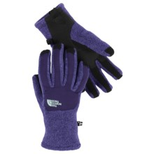 The North Face Denali ETIP Fleece Gloves - Touchscreen Compatible (For Women) in Garnet Purple Heather - Closeouts