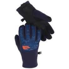 The North Face Denali Etip Gloves (For Little and Big Boys) in Cosmic Blue/Cosmic Blue Digi Camo - Closeouts