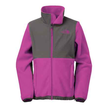 The North Face Denali Fleece Jacket (For Little and Big Girls) in Roxbury Pink - Closeouts