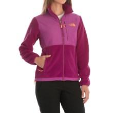 The North Face Denali Fleece Jacket (For Women) in Dramtic Plum/Luminous Pink Heather - Closeouts
