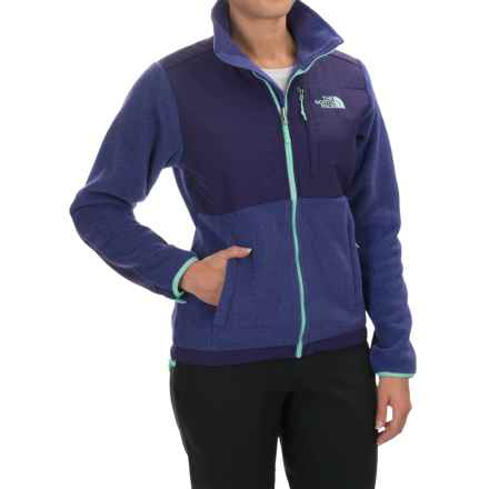 The North Face Denali Fleece Jacket (For Women) in Garnet Purple Heather/Garnet Purple - Closeouts