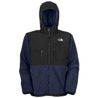 The North Face Denali Fleece Jacket - Polartec®, Hooded (For Men) in Deep Water Blue