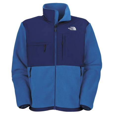 The North Face Denali Jacket - Polartec® Fleece (For Men) in Jake Blue/Bolt Blue