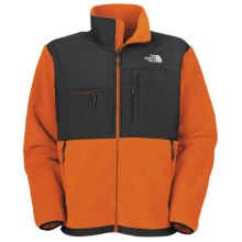 The North Face Denali Jacket - Polartec® Fleece (For Men) in Oriole Orange/Asphalt Grey - Closeouts
