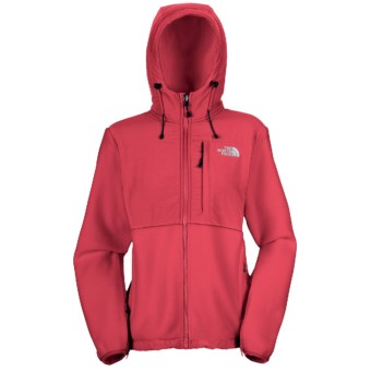 The North Face Denali Jacket - Polartec® Fleece, Hooded (For Women) in Teaberry Pink/Teaberry Pink