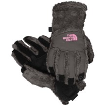 The North Face Denali Thermal Etip Gloves (For Little and Big Girls) in Graphite Grey - Closeouts