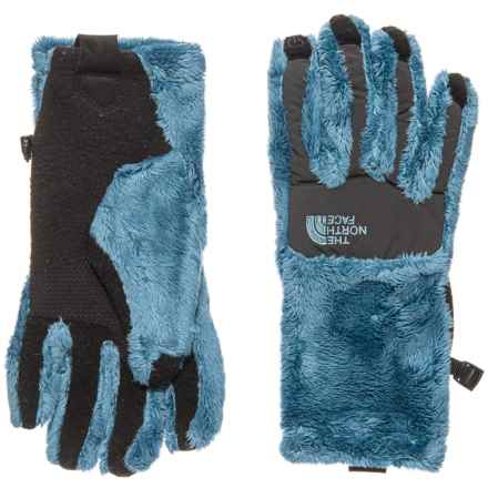 The North Face Denali Thermal Etip Gloves (For Women) in Provincial Blue - Closeouts