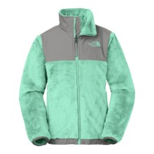 The North Face Denali Thermal Fleece Jacket (For Little and Big Girls) in Surf Green - Closeouts