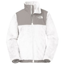 The North Face Denali Thermal Fleece Jacket (For Little and Big Girls) in White - Closeouts