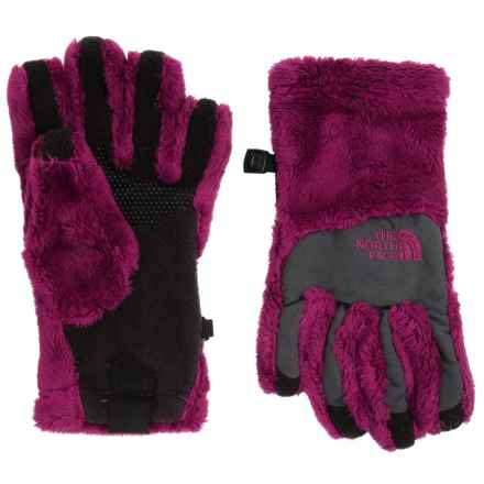 The North Face Denali Thermal Gloves - Touchscreen Compatible (For Little and Big Girls) in Roxbury Pink - Closeouts