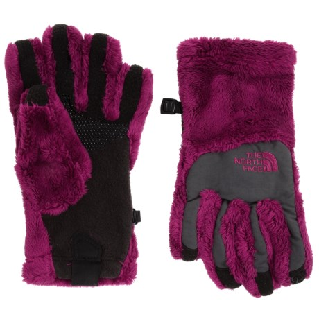 The North Face Denali Thermal Gloves - Touchscreen Compatible (For Little and Big Girls) in Roxbury Pink