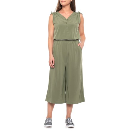 4dae308b7c0fb The North Face Destination Anywhere Romper (For Women) in Four Leaf Clover  - Closeouts