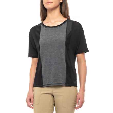 7e56d65a14b67 The North Face Determination Short Sleeve (For Women) in Tnf Black -  Closeouts
