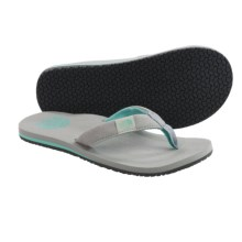 The North Face Dipsea Flip-Flops (For Women) in High Rise Grey/Beach Glass Green - Closeouts