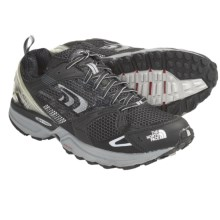 The North Face Double Track Gore-Tex® XCR® Trail Running Shoes - Waterproof (For Men) in Black/Metallic Silver - Closeouts