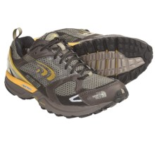 The North Face Double Track Gore-Tex® XCR® Trail Running Shoes - Waterproof (For Men) in Shroom Brown/Yellow Fenel - Closeouts