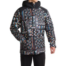 The North Face Dubs Ski Jacket - Waterproof, Insulated (For Men) in Tnf Black Glitch Print - Closeouts