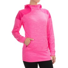 The North Face Dynamix Hoodie (For Women) in Glo Pink Heather/Glo Pink - Closeouts