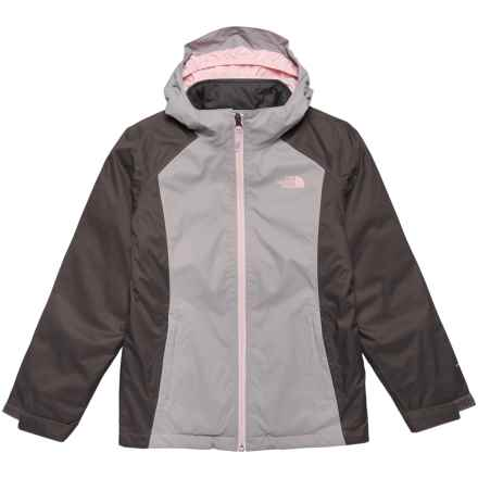 The North Face East Ridge Triclimate® Jacket - Waterproof, Insulated (For Big Girls) in Metallic Silver - Closeouts