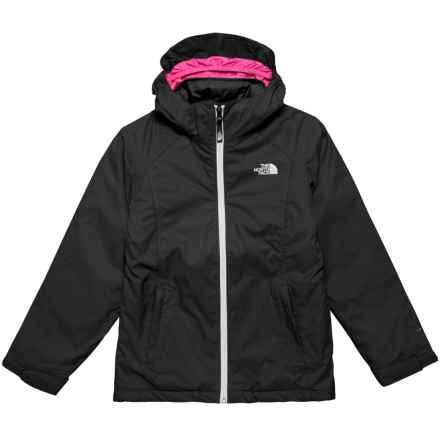 The North Face East Ridge Triclimate® Jacket - Waterproof, Insulated (For Big Girls) in The North Face Black - Closeouts